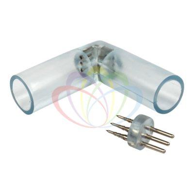 Муфта L - коннектор для дюралайта LED 3W ∅13мм