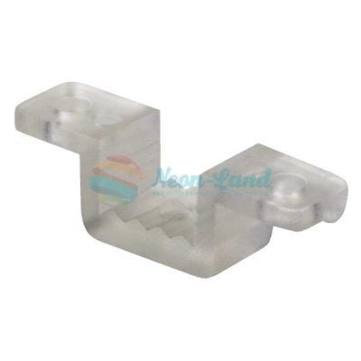 Клипса пластиковая для гибкого неона 7х12мм