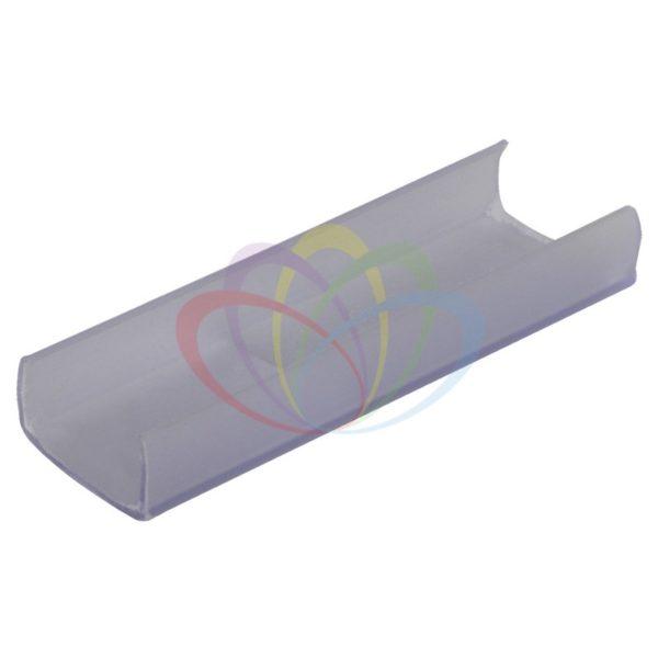 Короб пластиковый/клипса для гибкого неона 15х26мм