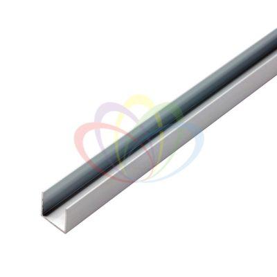 Короб алюминиевый для гибкого неона 15х26мм
