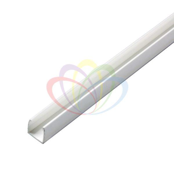 Короб пластиковый для гибкого неона 7х12мм