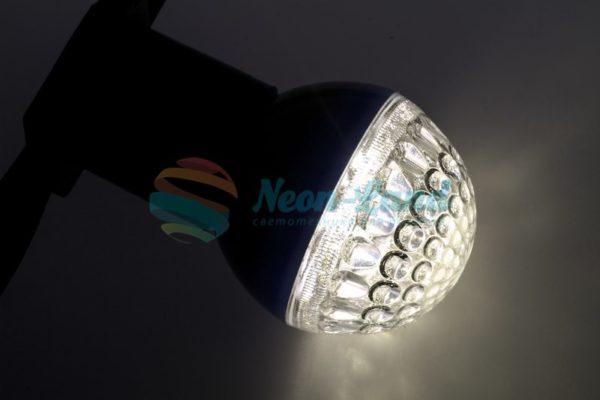 Лампа шар e27 9 LED  Ø50мм ТЕПЛЫЙ БЕЛЫЙ