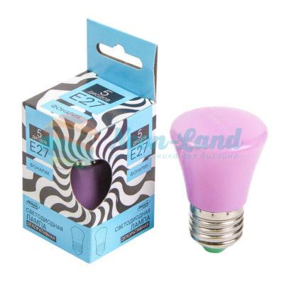 Лампа светодиодная декоративная LuazON «Фонарик»
