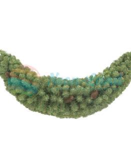 """Хвойный сваг """"Адмирал"""" зеленый 150 см."""