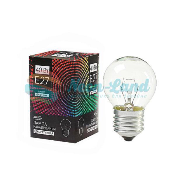 Лампа накаливания Luazon Lighthing E27