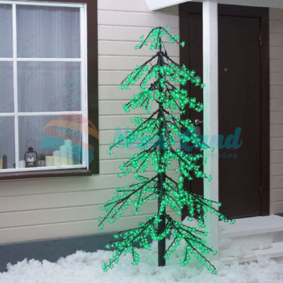 """Дерево светодиодное улич. 2 м. """"Ёлка"""" 1344 Led"""