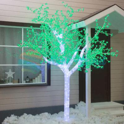 "Дерево светодиодное улич. 3 м. ""Акриловое"" 2304 Led"