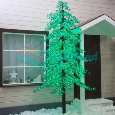 """Дерево светодиодное улич. 3 м. """"Ёлка"""" 2780 Led"""