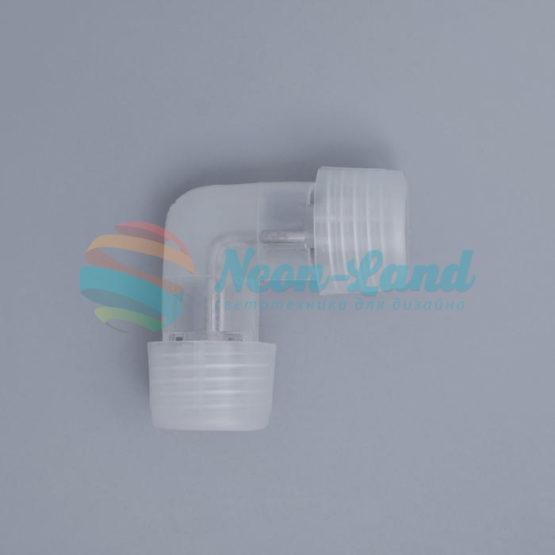 Коннектор L-образный для дюралайта