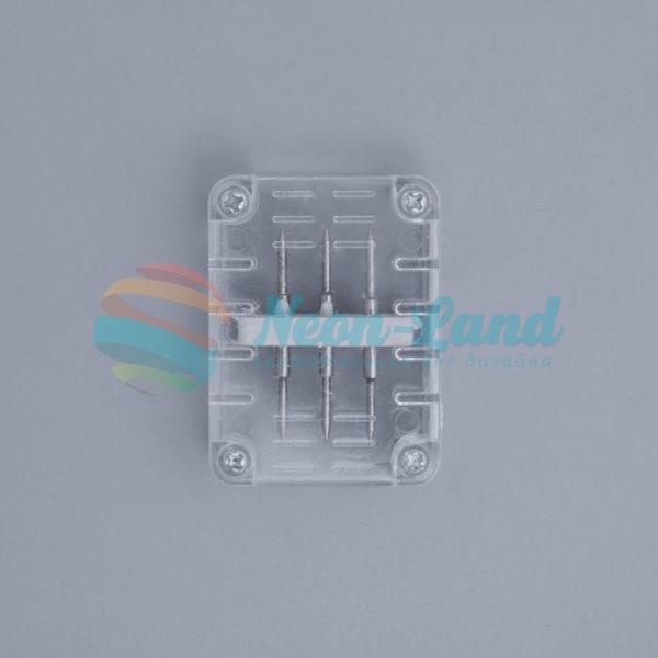 Коннектор для дюралайта 11*18 мм