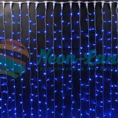 Световой занавес Rich LED мерцающий облегченный