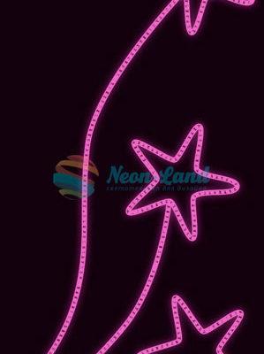 Светодиодная консоль Звезды