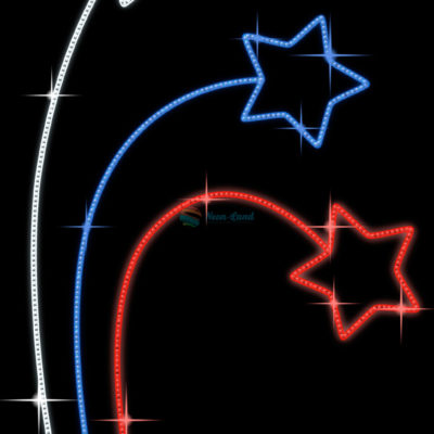 Светодиодная консоль Звезды Триколор