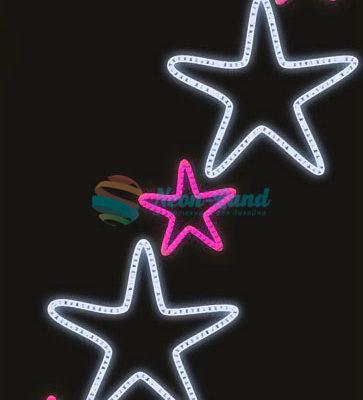 Светодиодная консоль Звезды 2-3