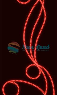 Светодиодная консоль Лоза красная