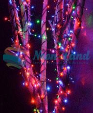 Светодиодная гирлянда Rich LED 3 Нити по 20 м RGB Хамелеон
