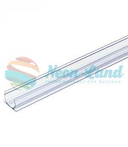 Креп-канал для круглого неона 16мм RuNeon пластик ( длина 1 метр )