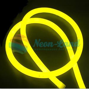 Светодиодный гибкий неон RuNeon LED-RNN-120-D16-Y-220