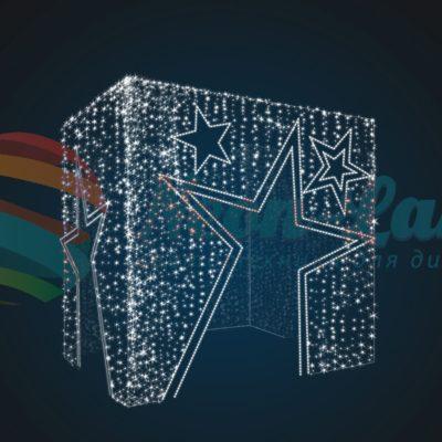 Входная группа Подарочная коробка Звездная