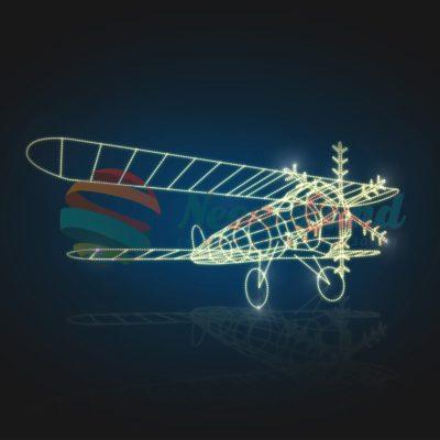 Самолет световой