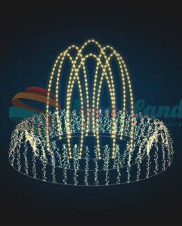 Светодинамический фонтан Струи