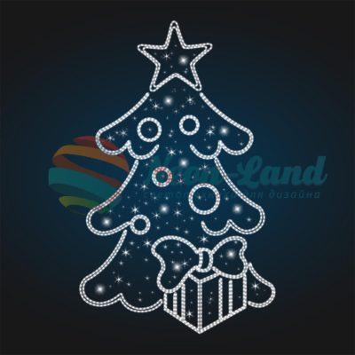 Панно Новогодняя елка
