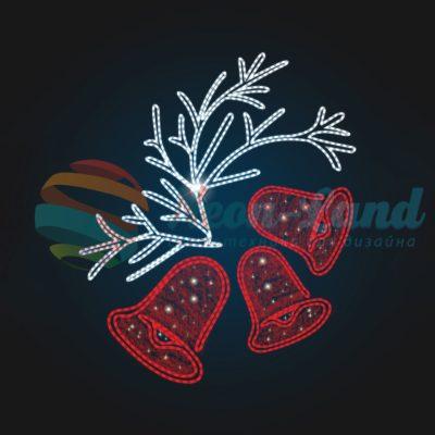 Панно Новогодние колокольчики
