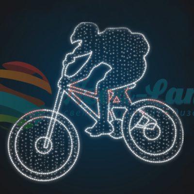 Панно Велосипедист