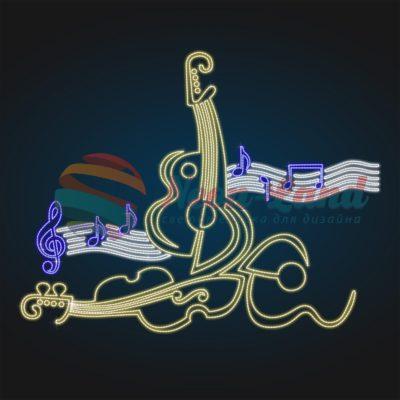 Музыкальное панно