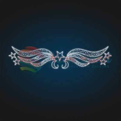 Перетяжка Звездные крылья