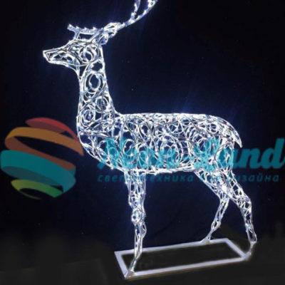 Световая фигура «Олень рождественский»